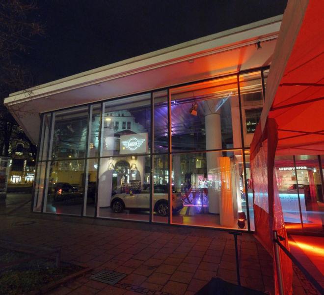 Mini Pavillon Virtueller Rundgang München
