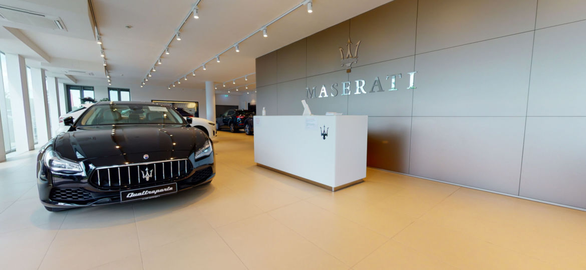 Maserati Showroom Munich - Virtual Tour by 360INT and Google Street View