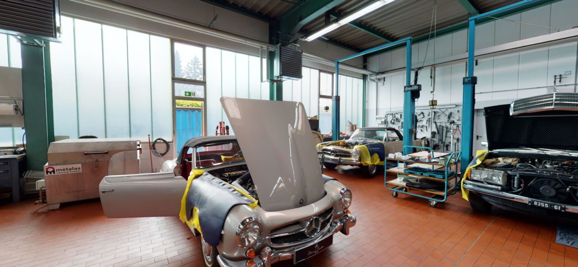 Mercedes Benz Classics Garage Munich Gauting