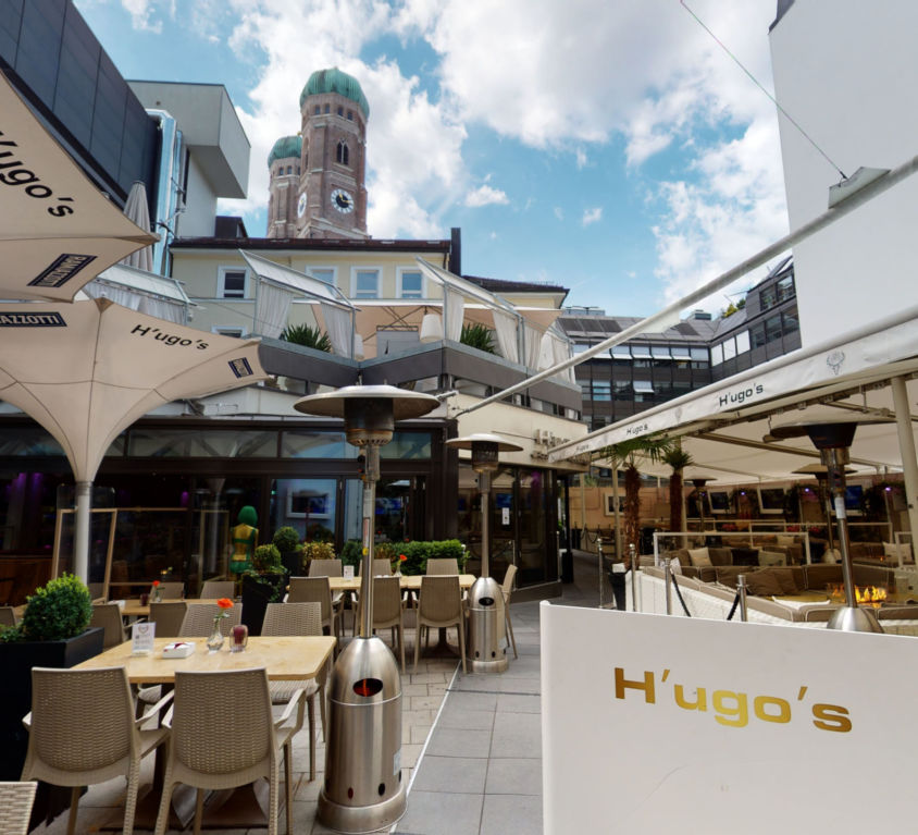 Hugos Pizza Virtueller Rundgang München by 360INT