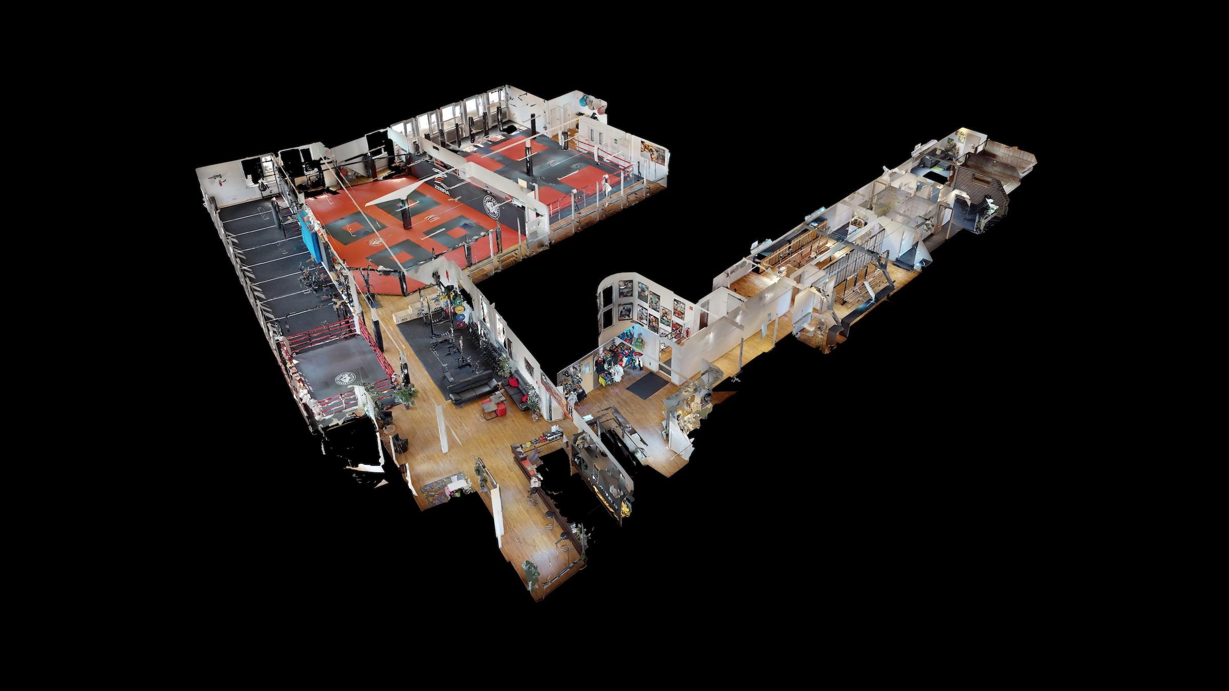 3D Modell - Puppenhaus Ansicht Planet Eater MMA Studio