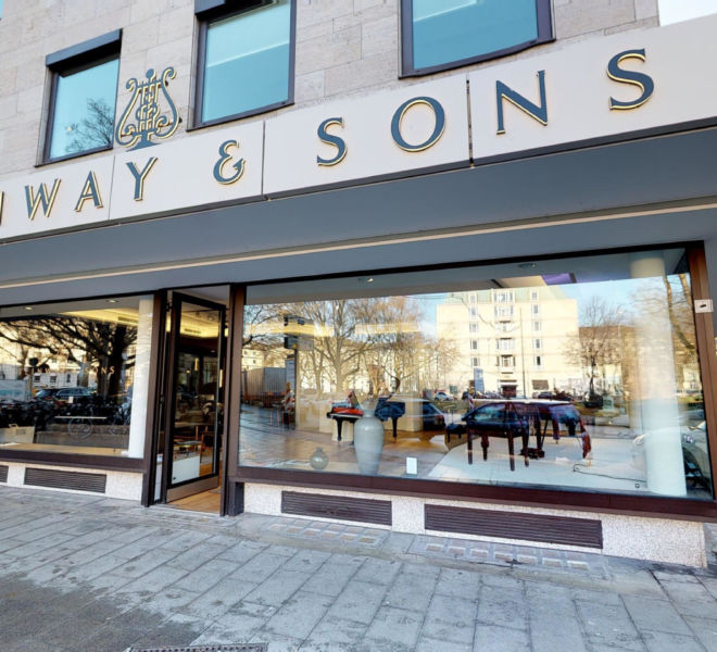 Steinway & Sons Virtual Tour by 360INT Outside View