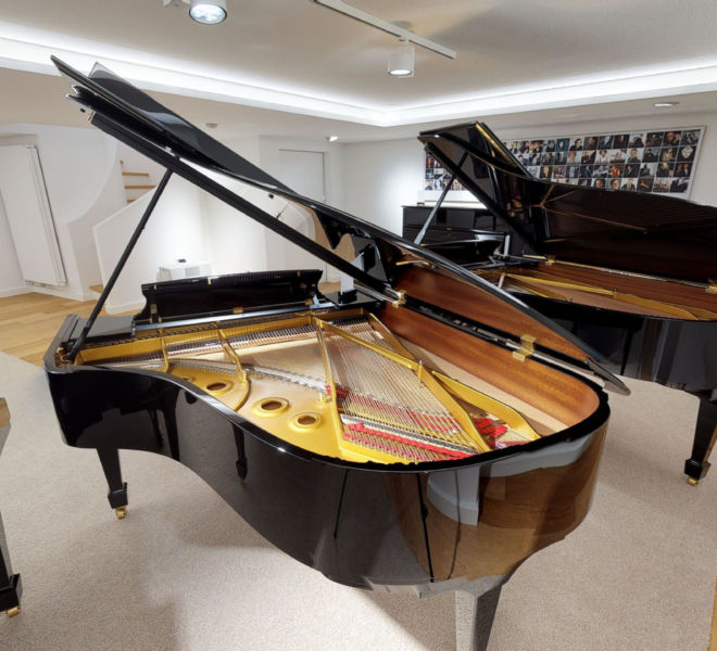 Steinway & Sons Virtual Tour by 360INT Cellar