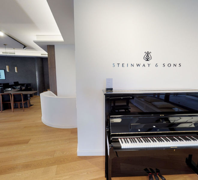 Steinway & Sons Virtual Tour by 360INT