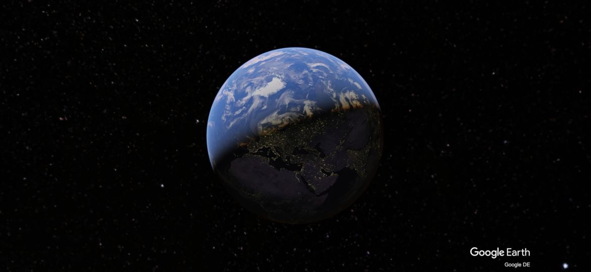 Google Earth 3D Animation