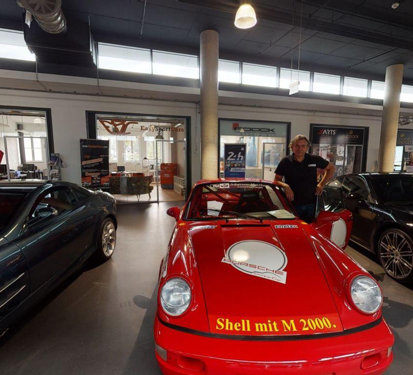 Roock Porsche Virtueller Rundgang Köln Motoroworld