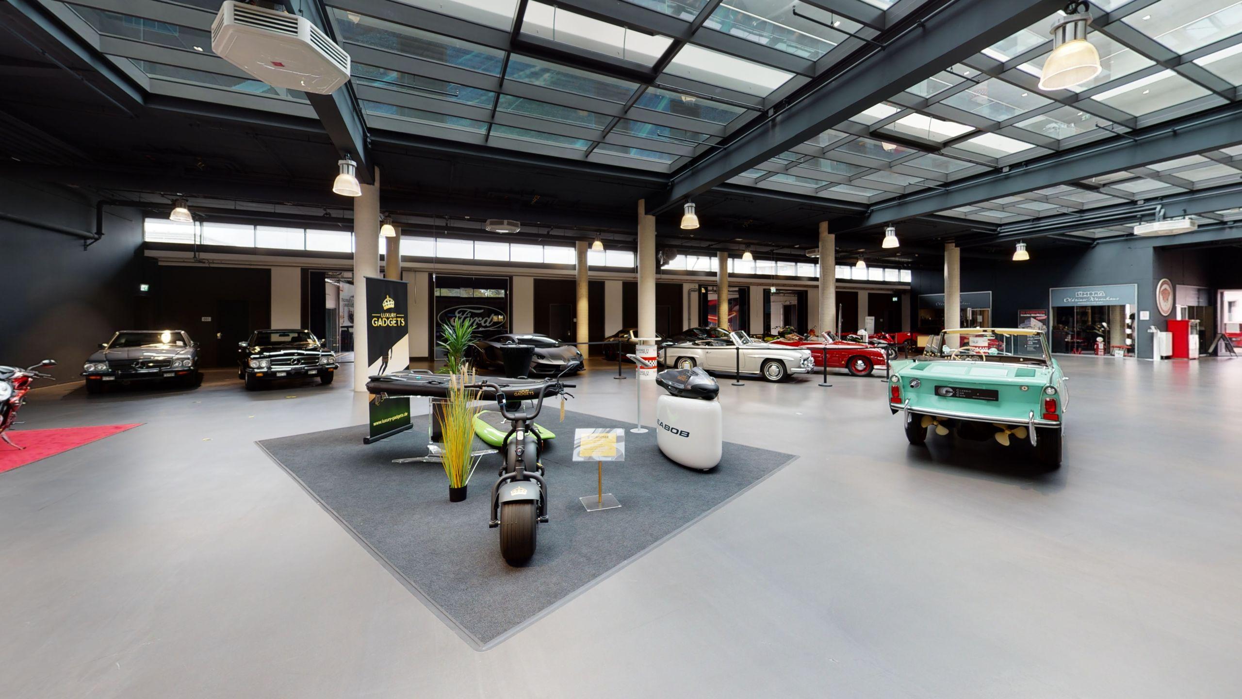 Luxury Gadgets Motorworld Retail Cologne 3D Tour