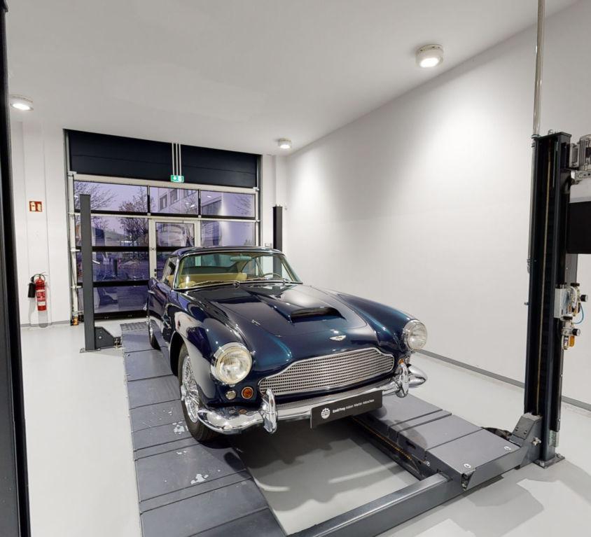 Aston Martin Munich Virtual 360Tour   360INT