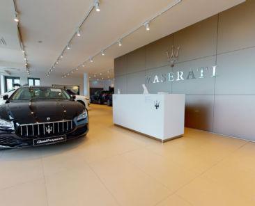 Maserati Showroom Munich Virtual Tour by 360INT
