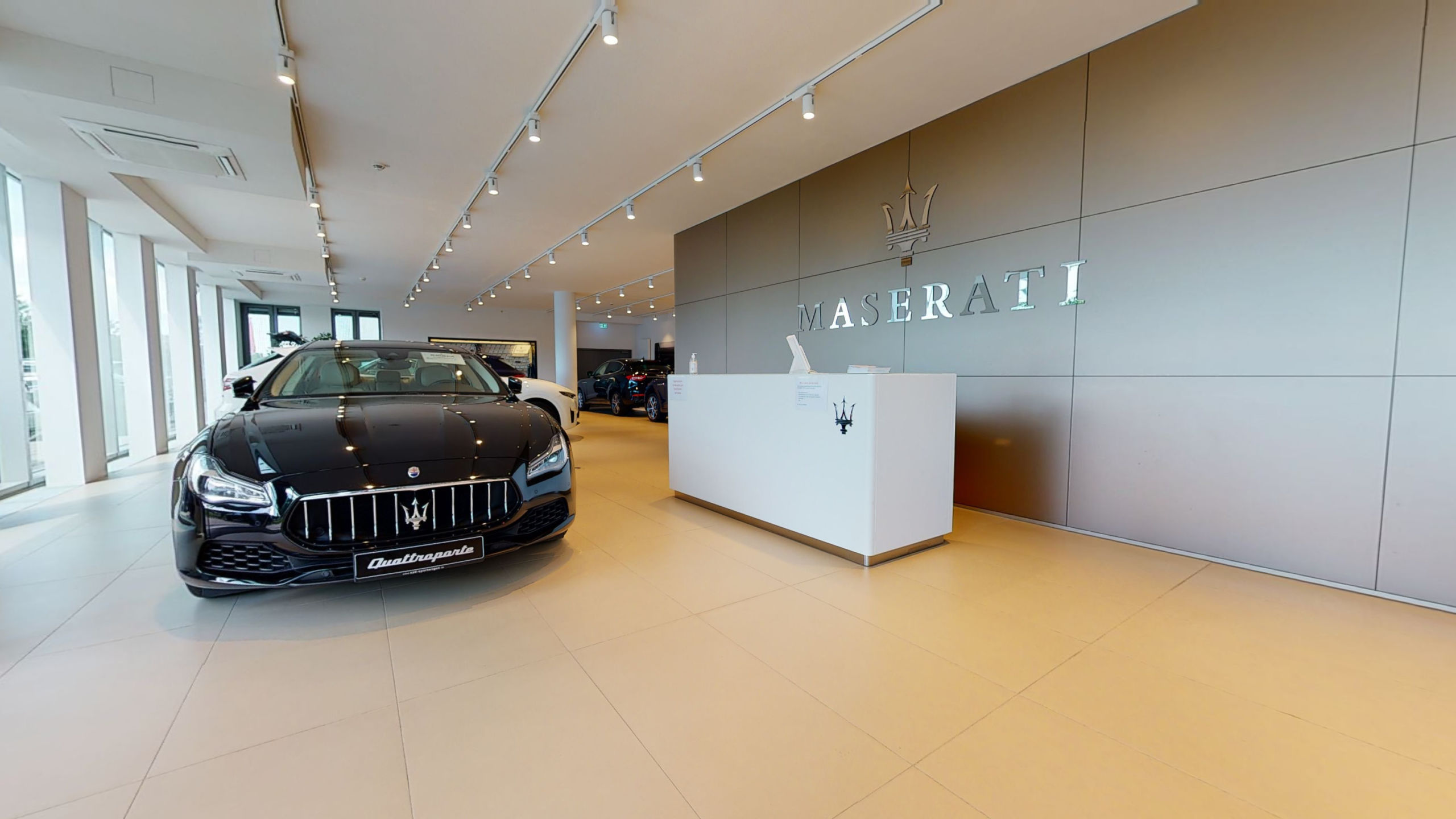 Maserati Showroom Munich Virtual Tour by 360INT